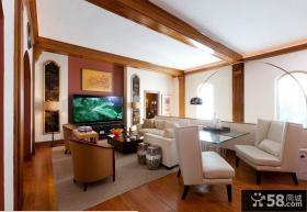 优质阁楼客厅装修效果图大全2013图片欣赏