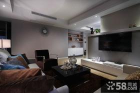 美式设计装修客厅电视背景墙图片欣赏大全