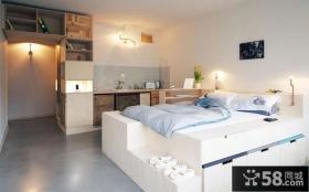 简约设计小户型房间装饰图片