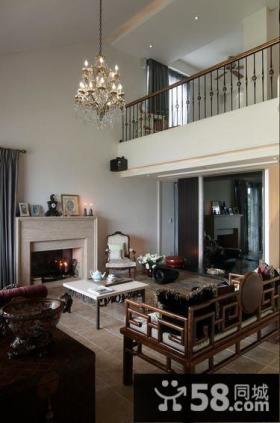 新古典风格别墅室内装饰设计图片