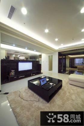 美式客厅电视背景墙