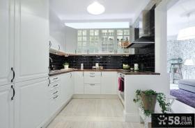2013欧式开放式厨房装修效果图欣赏