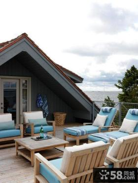 家装室内设计露天阳台图片欣赏