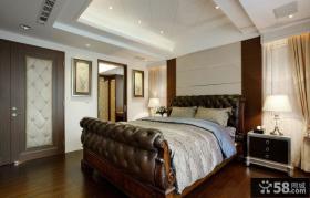 现代风格大主卧室装修效果图