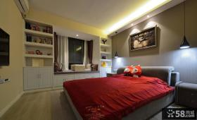 现代卧室设计家装效果图片