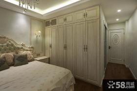 家庭卧室欧式衣柜效果图片大全