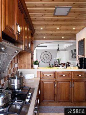 欧式厨房设计装饰效果图欣赏