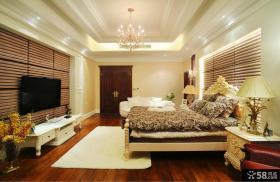 欧式风格装修卧室背景墙效果图