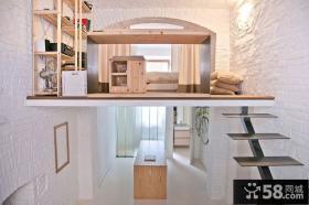 温馨宜家风格小户型复式家居装修图片