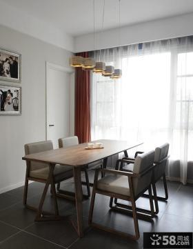 宜家风格家庭餐厅设计效果图