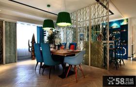2013厨房与餐厅隔断设计