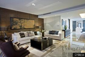 现代简约风格家装客厅设计效果图