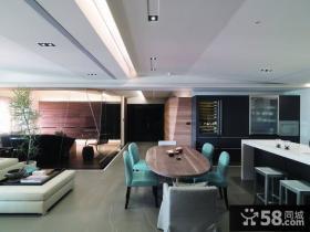 美式现代风格餐厅设计图片欣赏