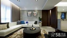 现代风格三室两厅效果图大全欣赏