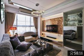 现代欧式风格三室两厅效果图大全