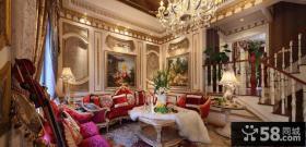 巴洛克风格别墅室内装修效果图大全