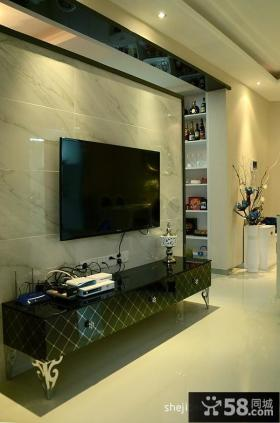 简欧风格电视背景墙