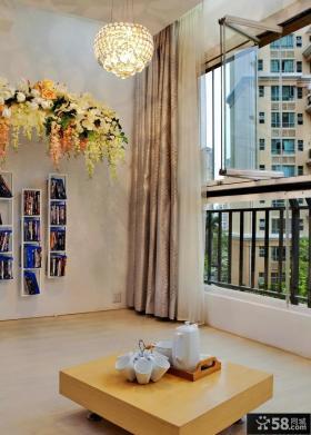 现代风格室内阳台设计效果图