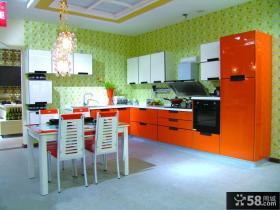 厨房整体橱柜效果图片欣赏