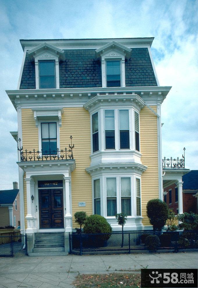 欧式建筑风格小别墅图片图片