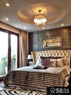 欧式风格温馨卧室图片