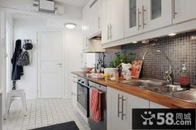 复式楼欧式现代厨房装修效果图大全2014图片