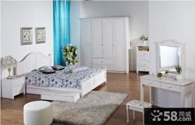 韩式田园卧室衣柜家具图片