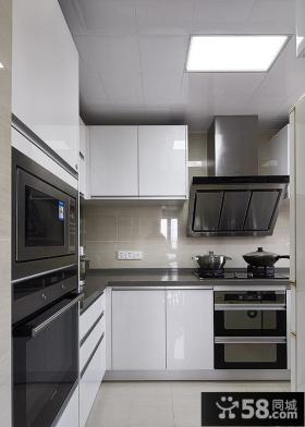 简欧风格现代厨房装饰设计效果图