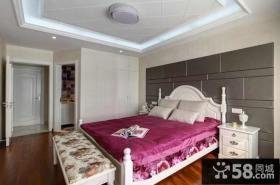 简欧田园风格卧室设计图片