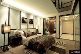 日式新古典家居设计复式装修效果图