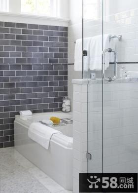 7万打造奢华中式风格卫生间装修效果图大全2014图片