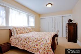 欧式风格主卧室实木床图片