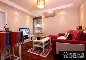 4万打造60平温馨简约风格家居客厅装饰