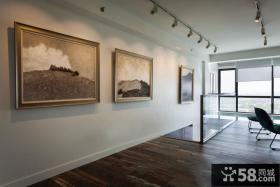 别墅楼梯间墙面装饰画图片欣赏