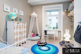 现代简约大户型儿童房装修效果图