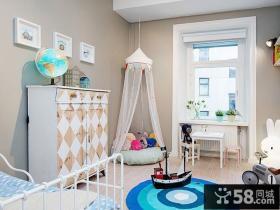简约美式设计公寓室内装修图片