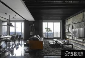美式家装设计客厅电视背景墙效果图大全欣赏