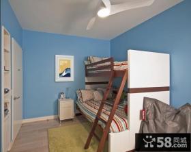 90平米房屋上下铺儿童房装修效果图