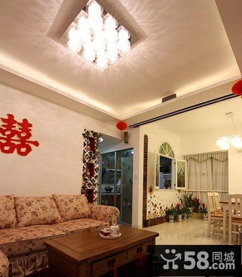 婚房客厅装修效果图大全2015图片