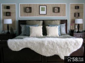 最新简约风格客厅沙发背景墙装修效果图