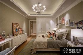 美式风格装饰卧室图片