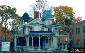 仿古风格别墅设计图片