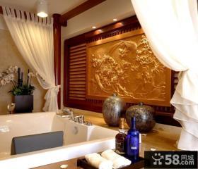 美式豪华别墅家庭室内设计图片