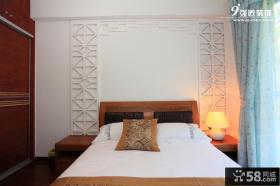 新中式主卧室装修效果图片