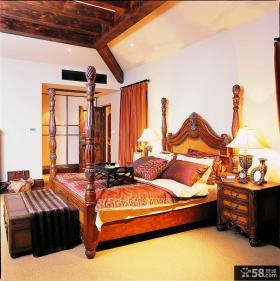美式风格别墅主卧室装修效果图欣赏