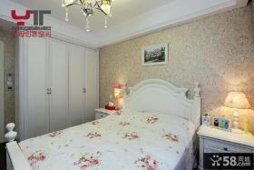 欧式卧室壁纸装修效果图大全2013图片