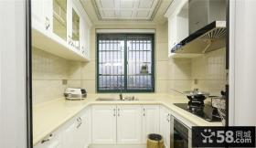 简欧室内厨房家居设计效果图片