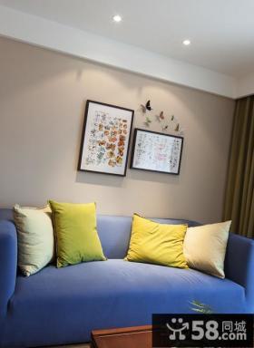 简约风格客厅抽象装饰画