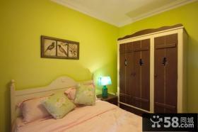 次卧室实木衣柜效果图片