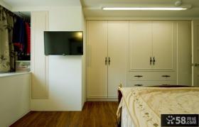 欧式风格豪华卧室电视背景墙图片大全